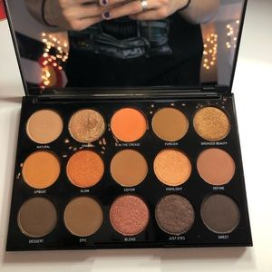 Morphe 15D Eyeshadow Pallete